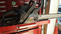 craftsman gas operated chain saw