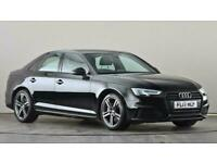 2017 Audi A4 2.0 TDI Ultra 190 S Line 4dr S Tronic Auto Saloon diesel Automatic