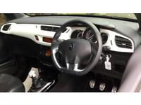 2015 Citroen DS3 1.6 THP 16V 165 DStyle Ice 3dr Manual Petrol Hatchback