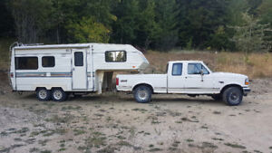 F150 4x4 Truck and Camper Package