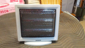 NOMA DUAL HALOGEN HEATER WITH 2 SETTINGS