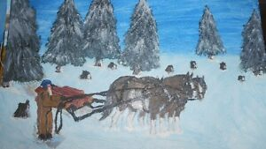 Oil paintings on canvas London Ontario image 1