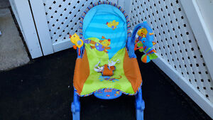 Baby Rocking Chair/ Toddler Rocker/ Fisher Price Portable Chair