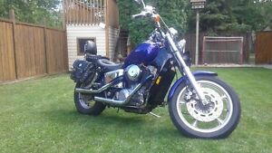 1987 HONDA SHADOW 1100 WITH CUSTOM PIPES *SAFTIED*
