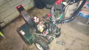 Snowblower---------reduced for quick sale