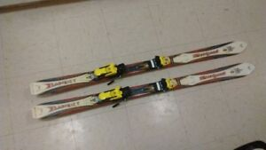 Rossignol bandit 135 hg0081 skis  very good condition
