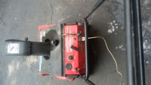 Snow blower with electric start .$ 130.00
