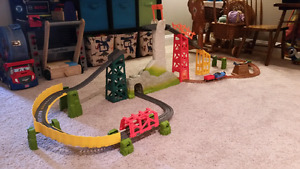 Thomas the Brave train set