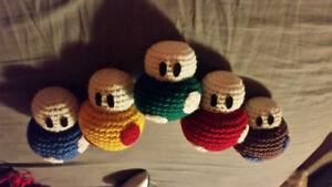Handmade Crochet Mushroom Stuffie