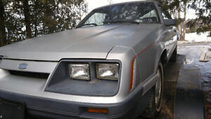 1985 Ford Mustang LX 5.0L RARE