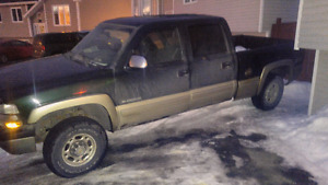 2001 chevy Silverado 1500hd 6.0l