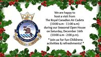 Royal Canadian Air Cadets Visit - East Branch Public Library