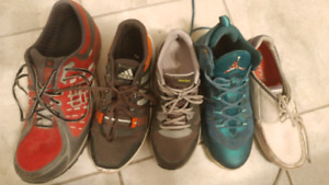 Chaussures différents taille