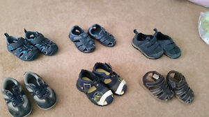 6 Pair of Shoes and Sandals