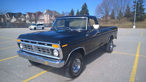 1975 ford f100 trade for Harley or older Indian