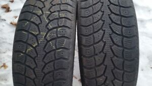 "A pair of 205/55/16"" Winter tires"