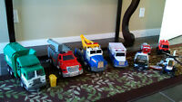 Tonka Rescue Vehicles & Assorted