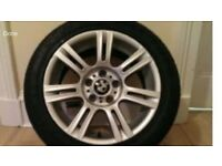 BMW ALLOY WHEELS M SPORT 17 inch