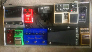 UPDATED Pedals and accessories
