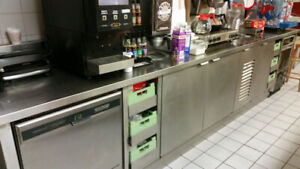 Counter For Piazza or Coffee Shop