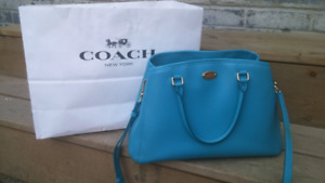 Limited Edition Coach purse in Cadet Blue