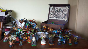 skylanders giants,, swap force and trap team