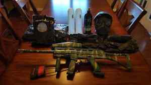 Paintball marker and equipment
