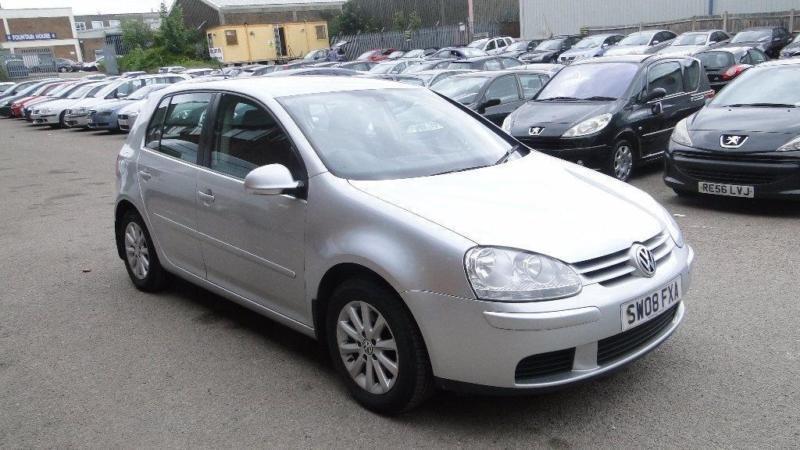 2008 Volkswagen Golf 1.6 FSI Match 5dr