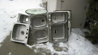 Used kitchen stainless steel
