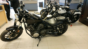 **YAMAHA BOLT - 942CC - BRAND NEW WITH WARRANTY**