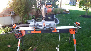 "Miter Saw - 12"" RIDGID Compound Miter Saw (Saw Stand Available) Kitchener / Waterloo Kitchener Area image 1"