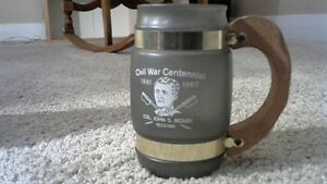 VINTAGE 1965 CVIL WAR CENTENNIAL MOSBY GLASS
