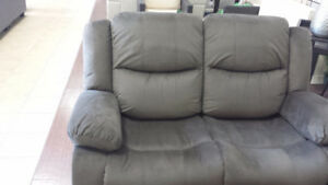 Reclining Sofa, Love Seat and Chair. New in box.
