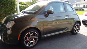 2013 Fiat 500 Sport New tires Low kms 45000