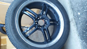 17 INCH SACCHI SUMMER TIRES AND WHEELS. Cambridge Kitchener Area image 5