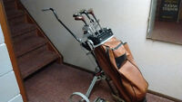 Golf set with bag and 14 clubs