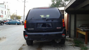 2009 GMC Envoy SLE SUV, Crossover  Black 4dr/Sunroof