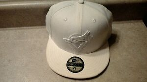 Toronto Blue Jay Fitted Baseball Cap, White