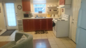 All inclusive furnished apartment for rent 100 Mile House BC.