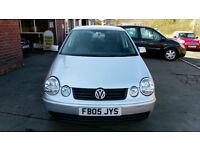 VOLKSWAGEN POLO 1.4 TDI DIESEL 5 DOOR 94K MILES ONLY £15 WEEK P/LOAN 2005