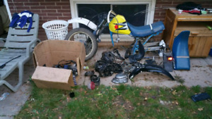 Suzuki dr 200 parts and roller /make offer