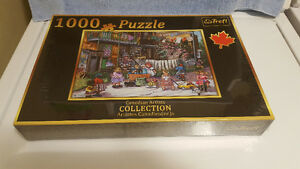 Puzzles  -  500 Pieces & 1000 Pieces  - Unopened
