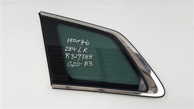 Rear Driver Side Quarter Glass Privacy Tint OEM 07 08 09 10 11 12 13 Mazda CX-9
