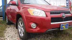 2009 Toyota RAV 4 limited fully loaded 4WD