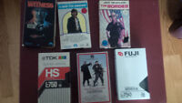 Lot de cassettes BETA