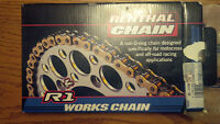 Renthal 420 chain and sprockets - Honda