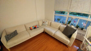 IKEA, Karlstad Sectional sofa for sale.