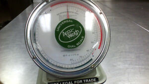 Accu weight 64 ounce dial scale