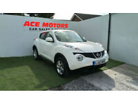 2013 63 NISSAN JUKE 1.6 16v VISIA 5 DR ONLY 21,000 MLS WITH FULL SERVICE HISTORY
