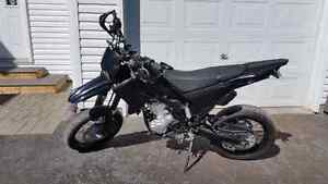 Yamaha wr250x supermoto, dual purpose